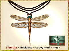 Bliensen - Libelula - Necklace Kopie