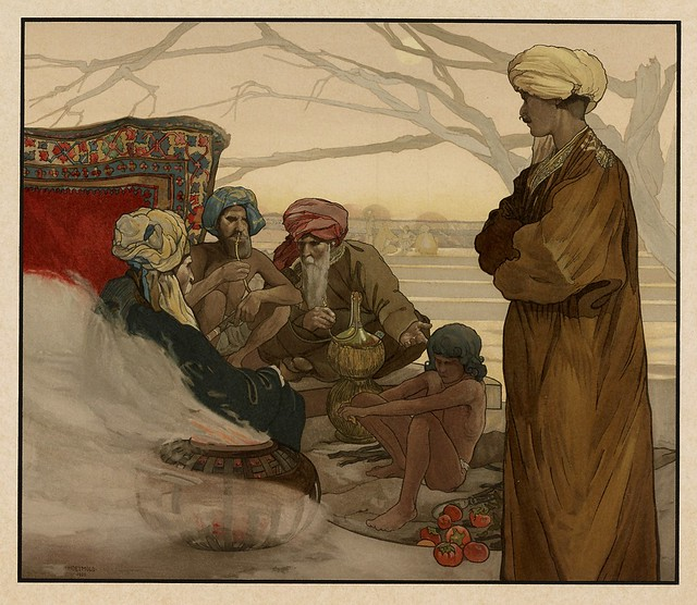 008-El consejo del pueblo-Sixteen illustrations of subjects from Kipling's Jungle Book-1903 -Library of Congress