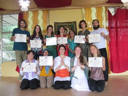 Newly Certified Yoga Teachers!