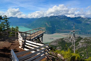 Today at the Chief Viewing Platform - Sea to Sky Gondola - Squamish