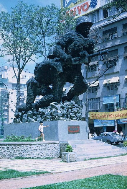 SAIGON 1969 - Lam Son Square Monument - Photo by Dr. William Bolhofer