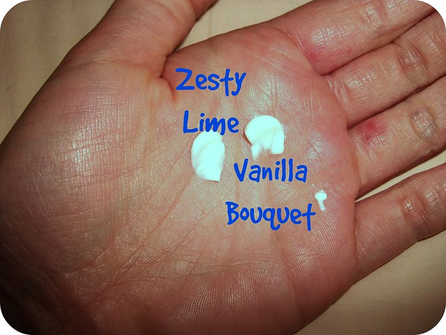 L'Occitane Hand Cream Zesty Lime Vanilla Bouquet