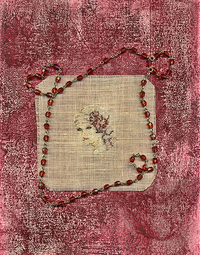 Petit Point On Linen