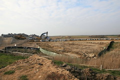 Medmerry - building the new rock armour
