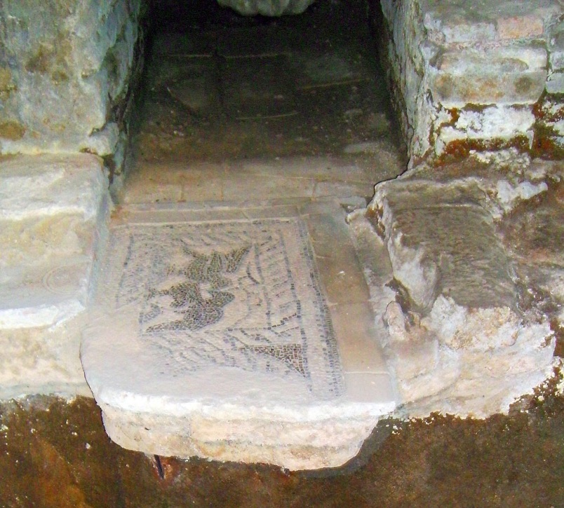 mozaicul de pe mormant