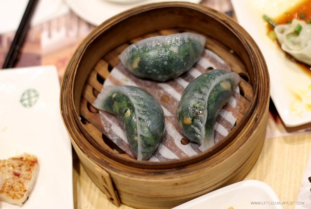 Tim Ho Wan spinach dumpling top by Chic n Cheap Living