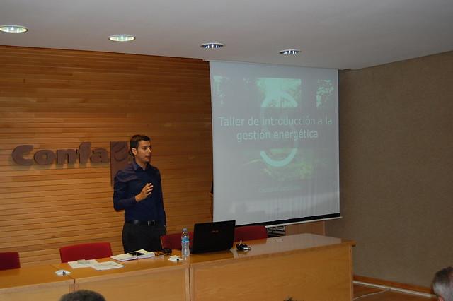AESLUX  taller sobre gestión energética