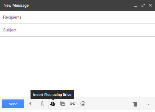 Connect Your Google Drive Files on Gmail