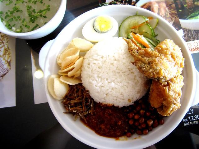 Noodle House nasi lemak 1