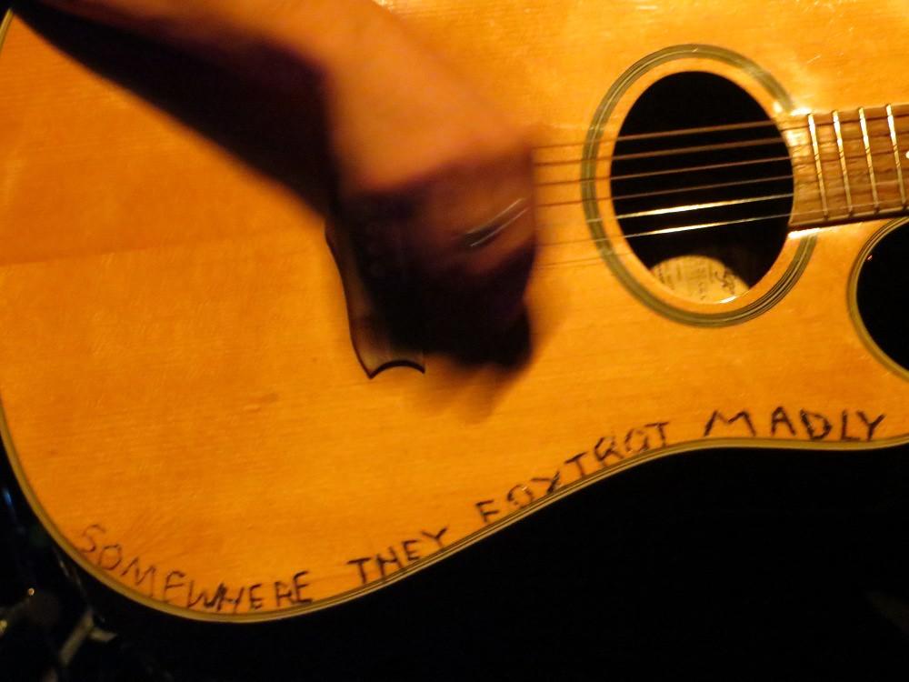 Mikel Jollett's guitar