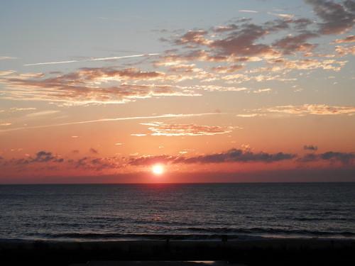 ocean city sun sunrise md atlantic rise