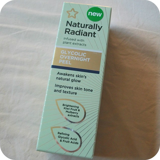 Superdrug Naturally Radiant Overnight Glycolic Peel Review