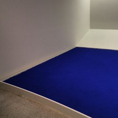 #YvesKlein at #ZEROnetwork opening