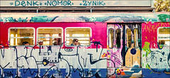 vecchio treno della Cumana