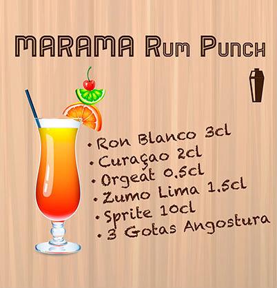 Marama Rum Punch