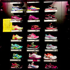shoeshopping for the Je. she takes kids sizes