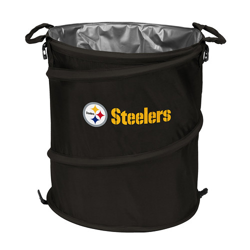 Pittsburgh Steelers Trash Can Cooler