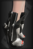 Razor/// Haute Boots - Gun Metal