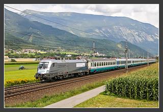 1116 038 mit Siemens-Werbung, 28. Aug 2008