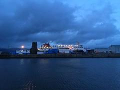 Islands ferry in Greenock Harbour