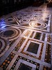 Polychrome marbles floor (13th century) - San Crisogono Church in Rome
