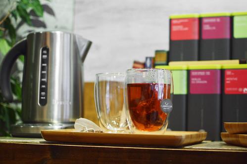Offre d'espace thé au travail
