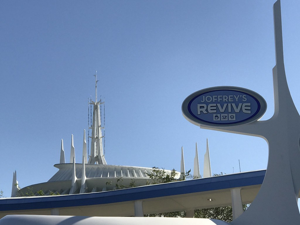 Joffrey's Coffee Revive in Tomorrowland, the Magic Kingdom