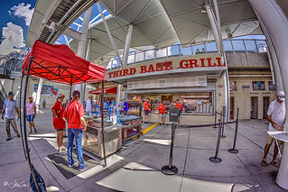 Third Base Grill. Jet Blue Park, Fort Myers, FL.