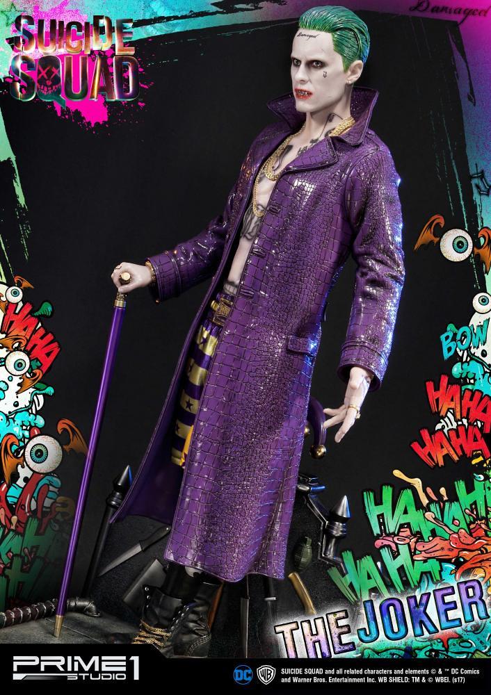 Prime 1 Studio 自殺突擊隊【小丑】Suicide Squad Joker 1/3 比例全身雕像作品  MMSS-03EX