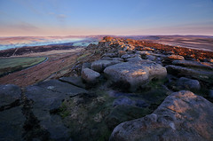 Stanage Edge Morning
