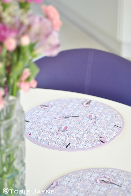 Handmade table mats tutorial 4