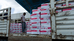 Japan donated RUTF supplies