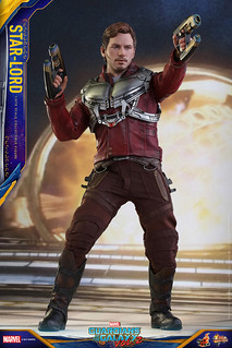 Hot Toys - MMS420《星際異攻隊2》1/6 比例【星爵】彼得·奎爾 Guardians of the Galaxy Vol. 2 Star-Lord Peter Quill