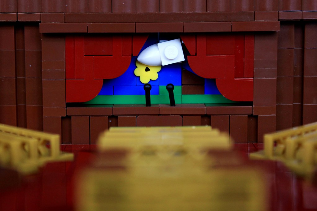 Brick Theater Presents… (custom built Lego model)