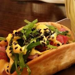Poke (#Tuna) Taco
