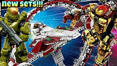 IMPRESSIVE New 2017 Summer Sets | Lego Star Wars + Mega Construx Halo + Lepin | BrickNews Ep51