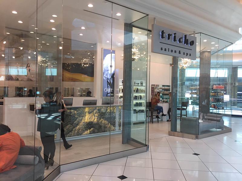 LED Panel Light Box at Tricho Salon & Spa