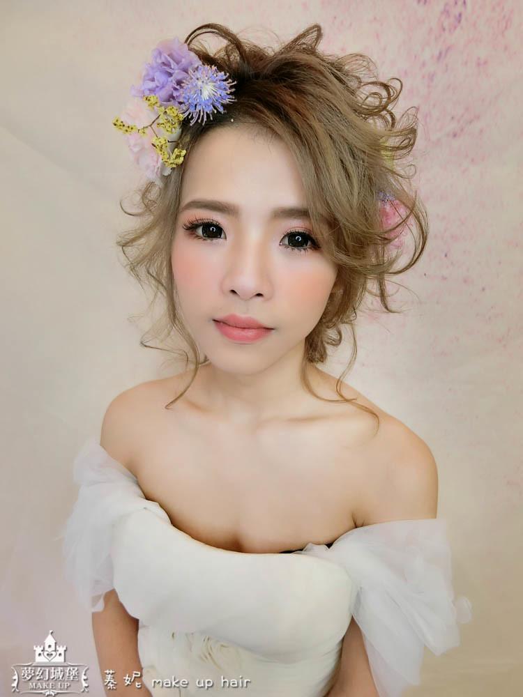 【新秘蓁妮】新娘造型創作 / 甜甜仙女
