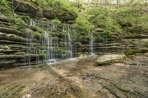 windingstairs park lafayette tennessee tn windingstaircascade waterfall falls cascade creek river stream water limestone ordovician rock bedrock maconcounty