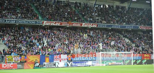 Caen-PSG / Un stade d'Ornano plein à craquer