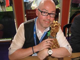John Boyne and Giraffe