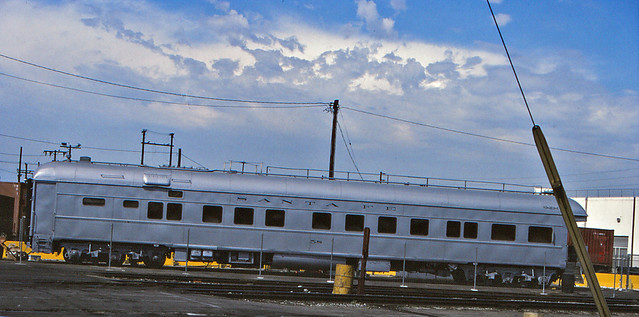 Santa Fe Business Car No. 58 At Hobart