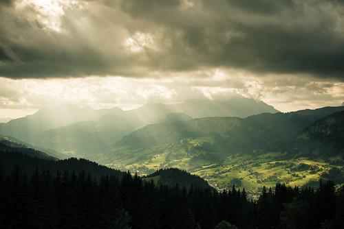 light sunset mountain france montagne landscape lumière nuages paysage coulds coucherdesoleil hautesavoie d600 rochebrune megève nikond600