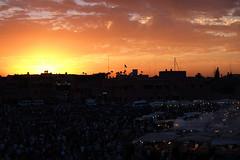 .sunset @ Place Jemaa el Fnà |2