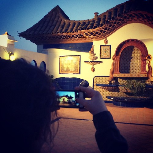 @igers al #MalvasiaBlogs a la terrassa del Palau Maricel @MuseusdeSitges #Penedesfera #JEPSitges14 #5InstameetPenedès