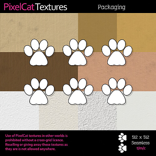 PixelCat Textures - Packaging