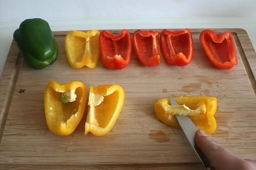 29 - Paprika entkernen / Decore bell pepper