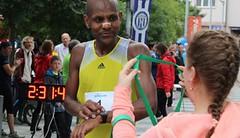 Na rekordním Ostravském maratonu triumfoval Mireček. Už poosmé