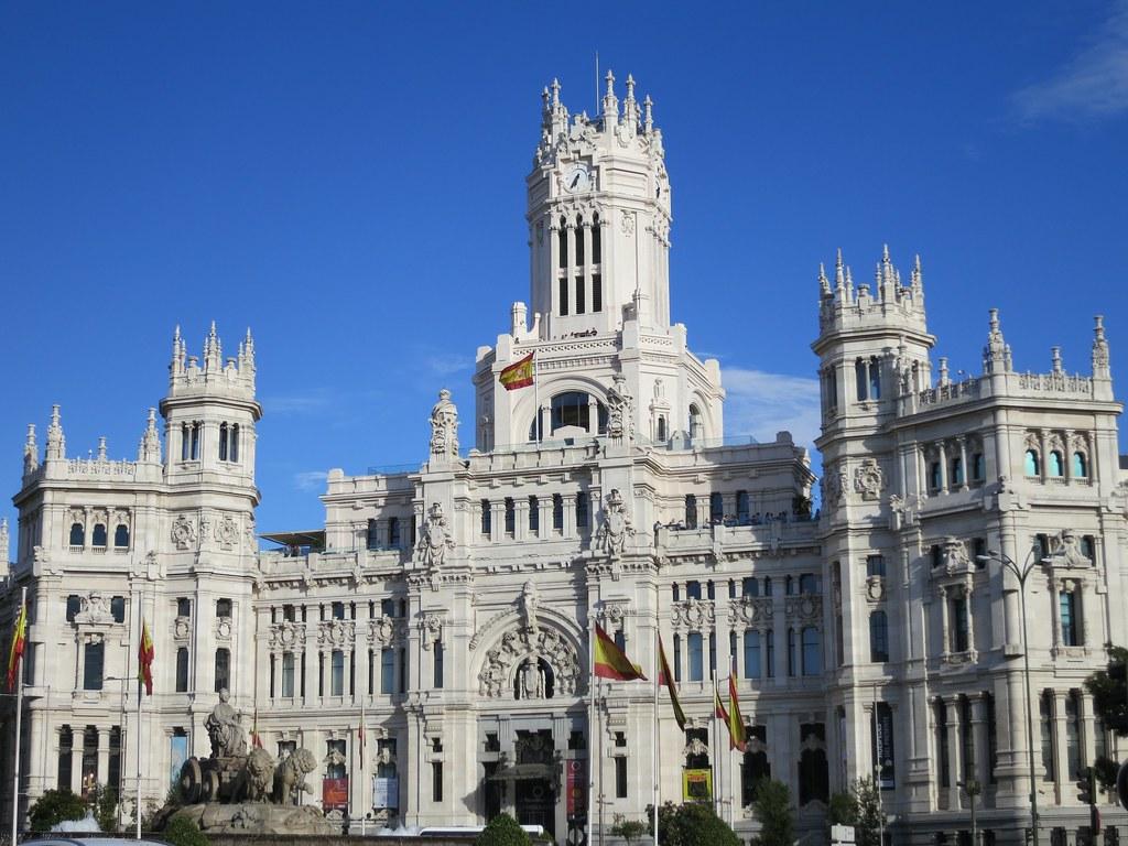 Palacio De Cibeles Madrid City Hall Kris Arnold Flickr