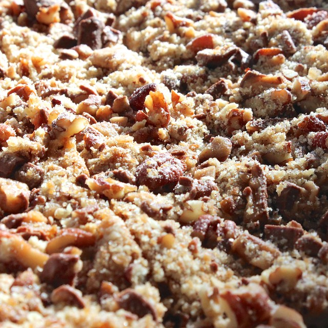 Toffee Pecan Coffee Cake
